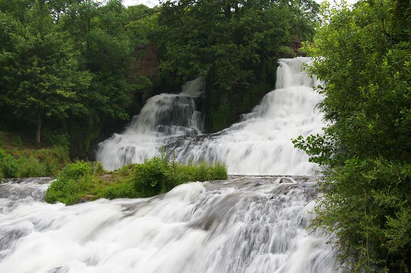 Червоноград, водопад