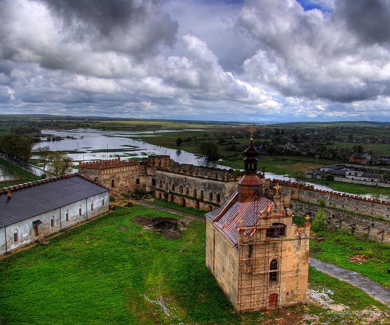 Панормама с крепости Меджибож
