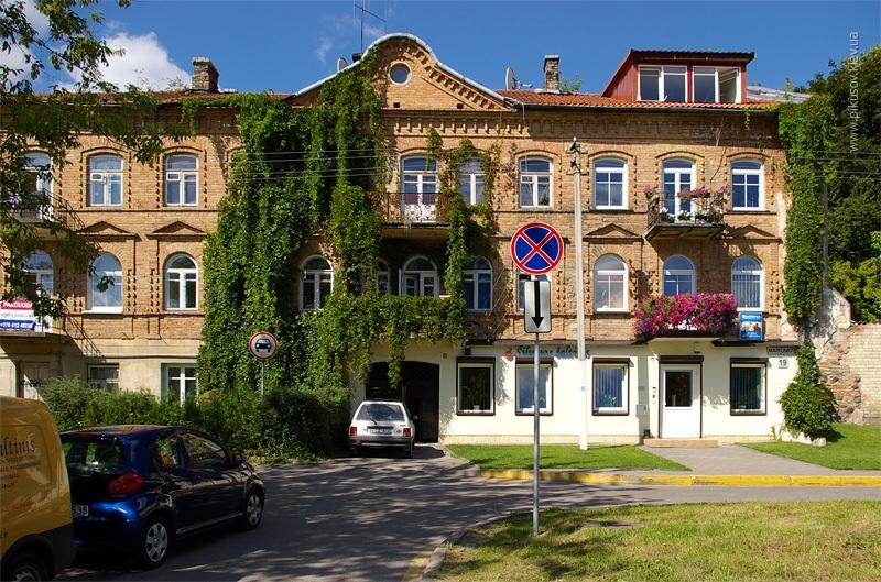Балконы Вильнюса