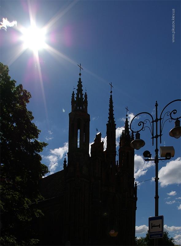 Костел в Вильнюсе