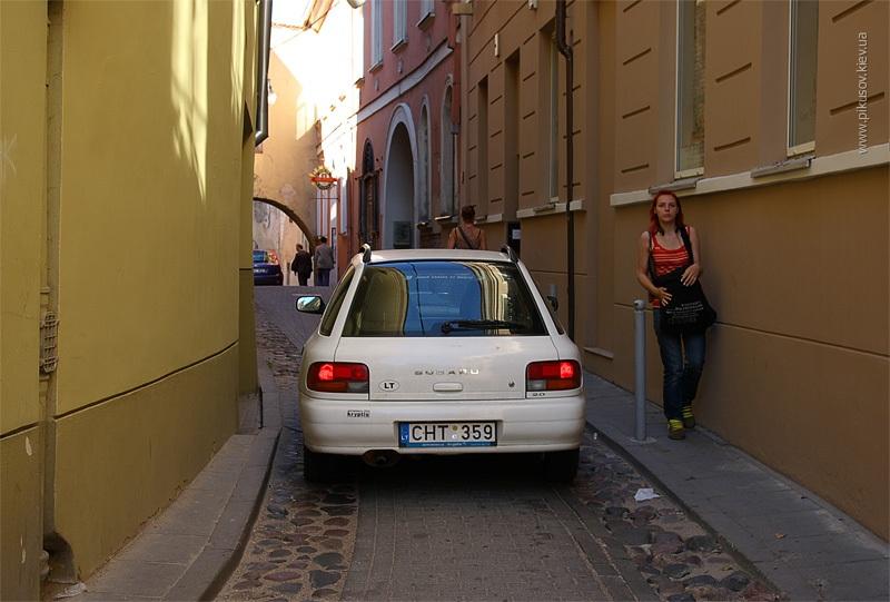 узкие улочки Вильнюса