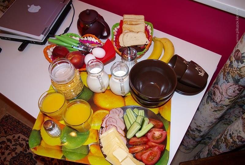 Гостиница в Вильнюсе. Завтрак
