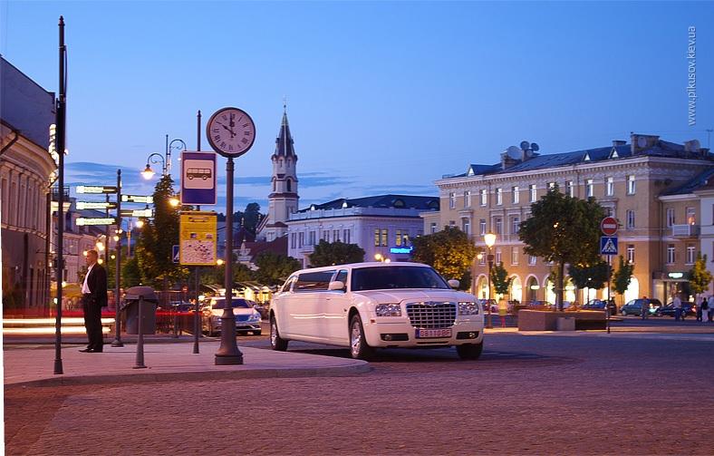 Вильнюс вечером