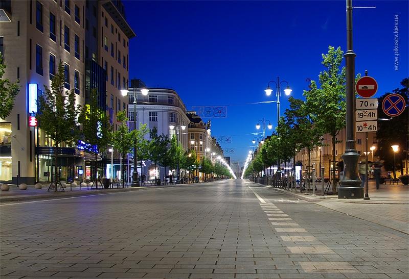 Вечерний Вильнюс